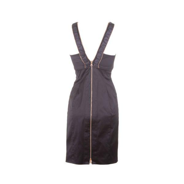 Versace jurk achterkant