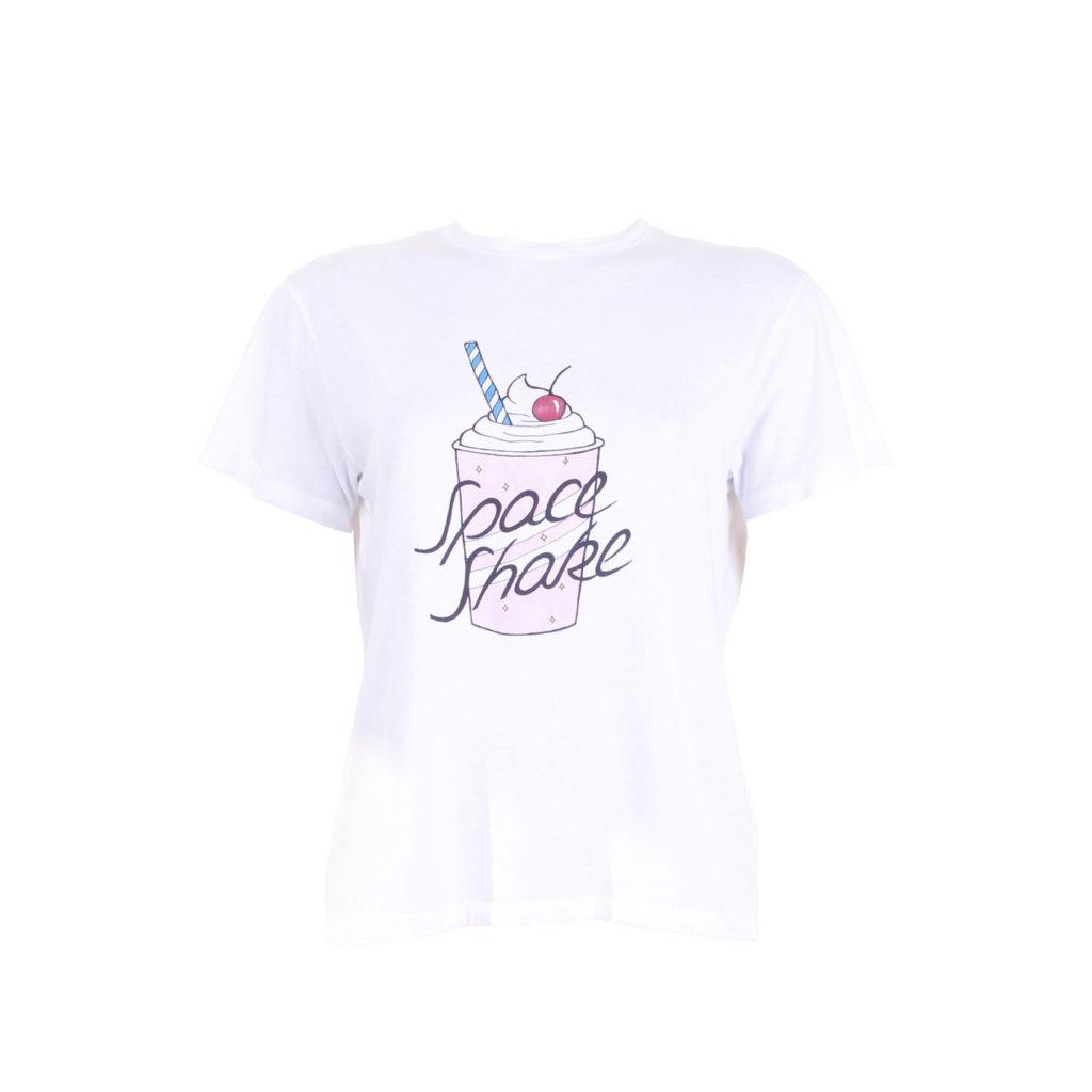 Ganni Space Shake T-Shirt - voorkant
