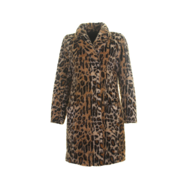 Rock and Blue Faux fur Coat - voorkant