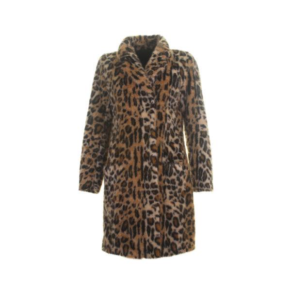 Rock and Blue Faux fur Coat - voorkant