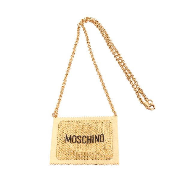Moschino x H&M condom ketting