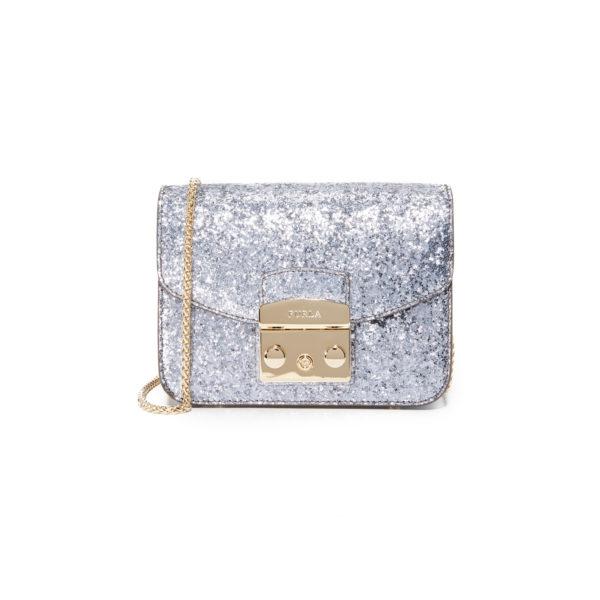 Furla Glitter Metropolis Mini Crossbody Bag - voorkant