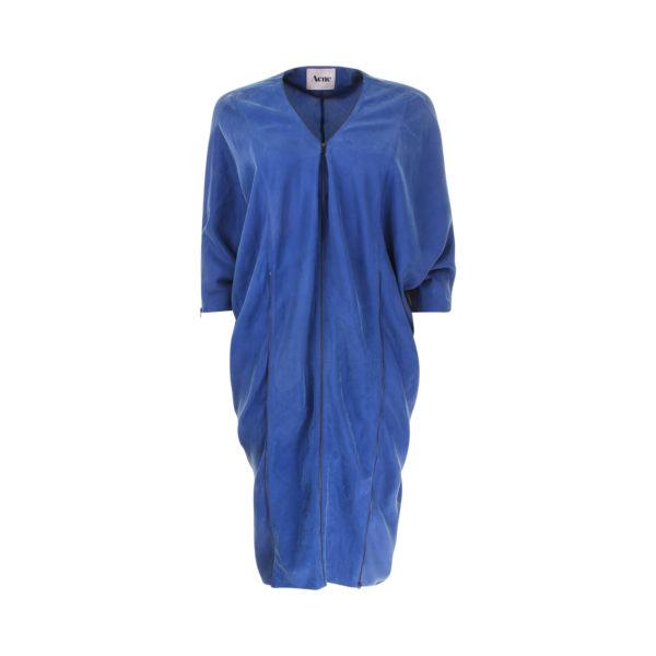 Acne jurk met ritsen (maat XS) - voorkant