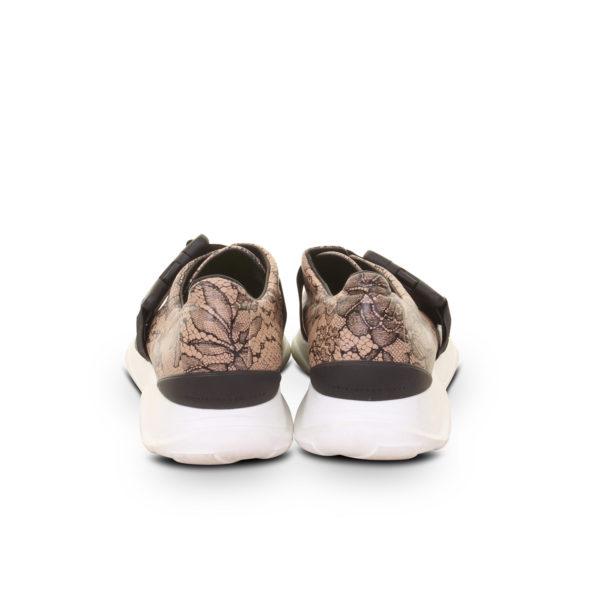 Christopher Kane sneakers met kantprint (maat 39) - achterkant
