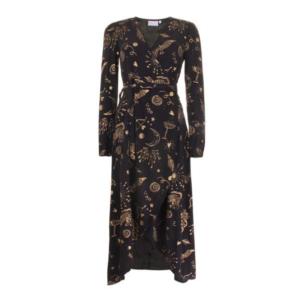 Fabienne Chapot Tanja maxi dress (maat S) - voorkant