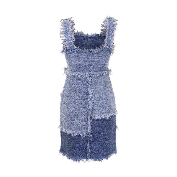 Missoni jurk (maat S) - achterkant