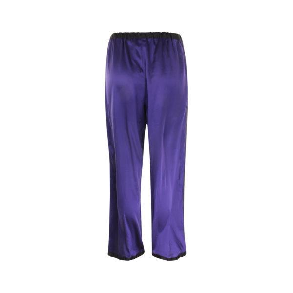 Missoni zijden broek (maat S) - achterkant
