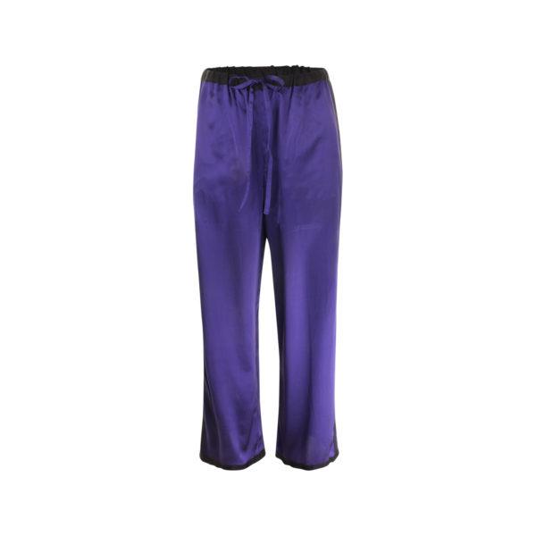 Missoni zijden broek (maat S) - voorkant
