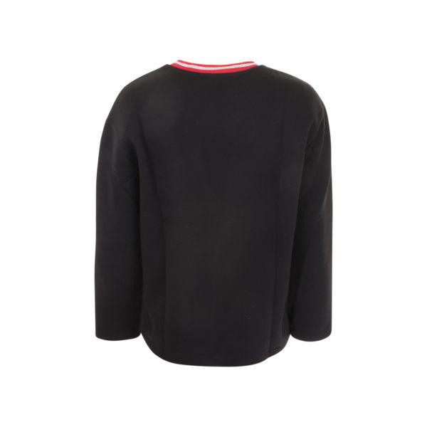Mother of Pearl geborduurde sweater (maat S) - achterkant