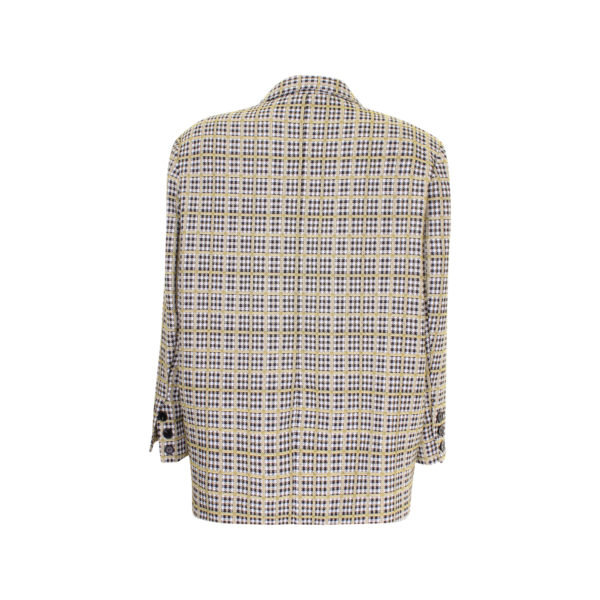 Storets plaid business jacket - achterkant