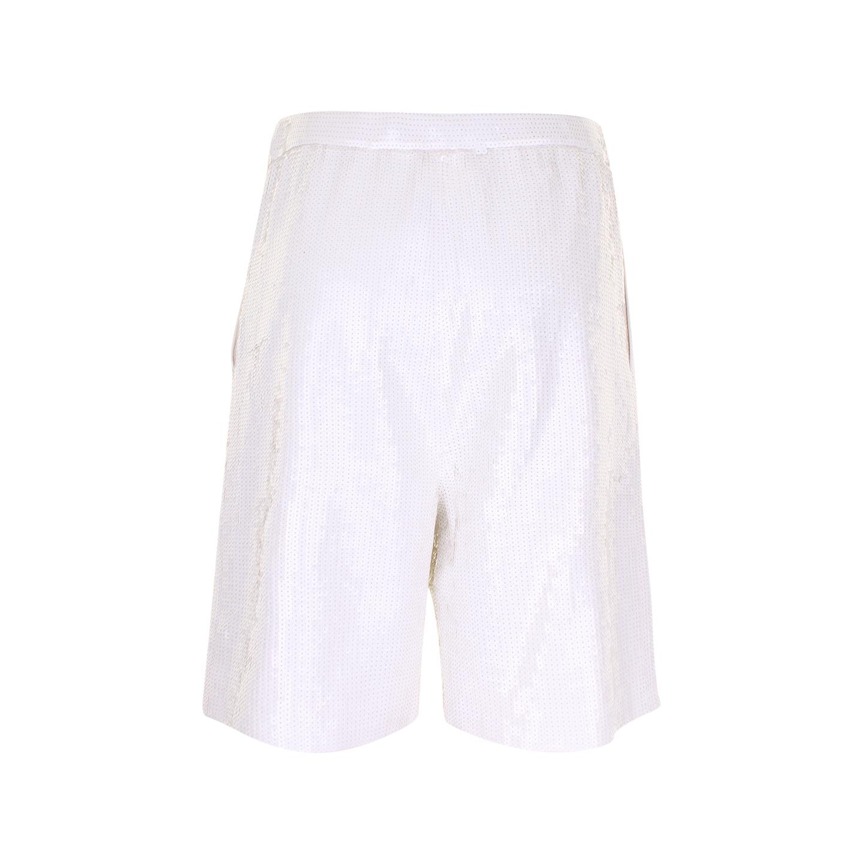 Tibi shorts met pailletten (maat M) - achterkant
