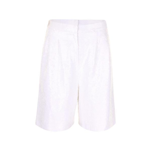 Tibi shorts met pailletten (maat M) - voorkant