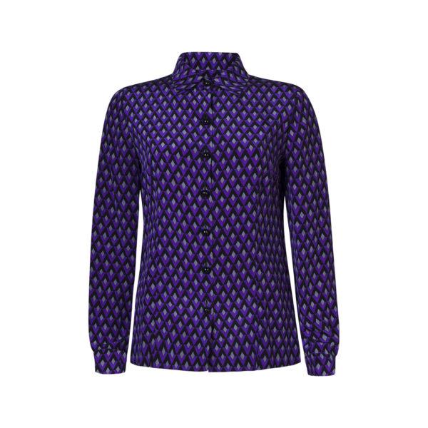 prada blouse - voorkant