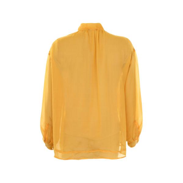 Dries van Noten silk blouse (size 38) - achterkant