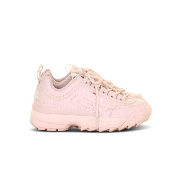 FILA 17FW disruptor II pale pink sneakers - zijkant