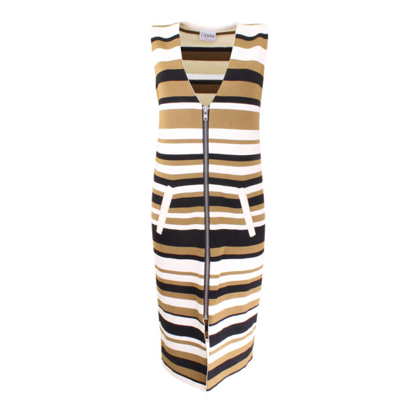 Ganni Long vest dress - voorkant