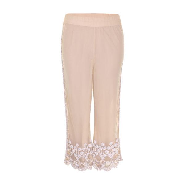 Ganni beads trouser (maat S) - voorkant