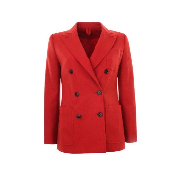 Max Mara tailleur sartoriale 100% woolen Ulna blazer - voorkant