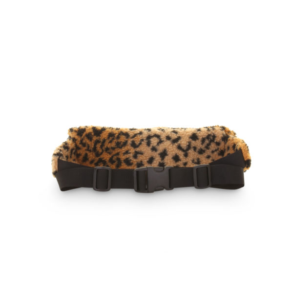Supreme Leopard Fleece Waist Bag - achterkant