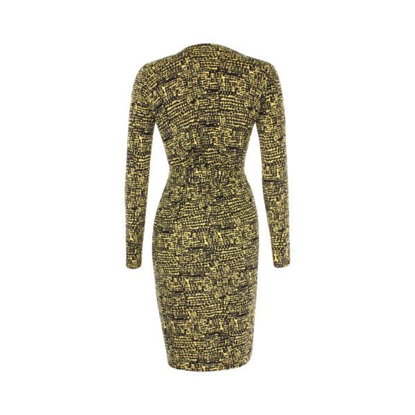 Diana von Furstenberg wrap dress (size XS) - achterkant