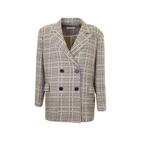 Storets plaid business jacket - voorkant
